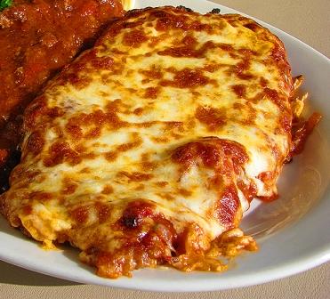 Πίτσα σνίτσελ