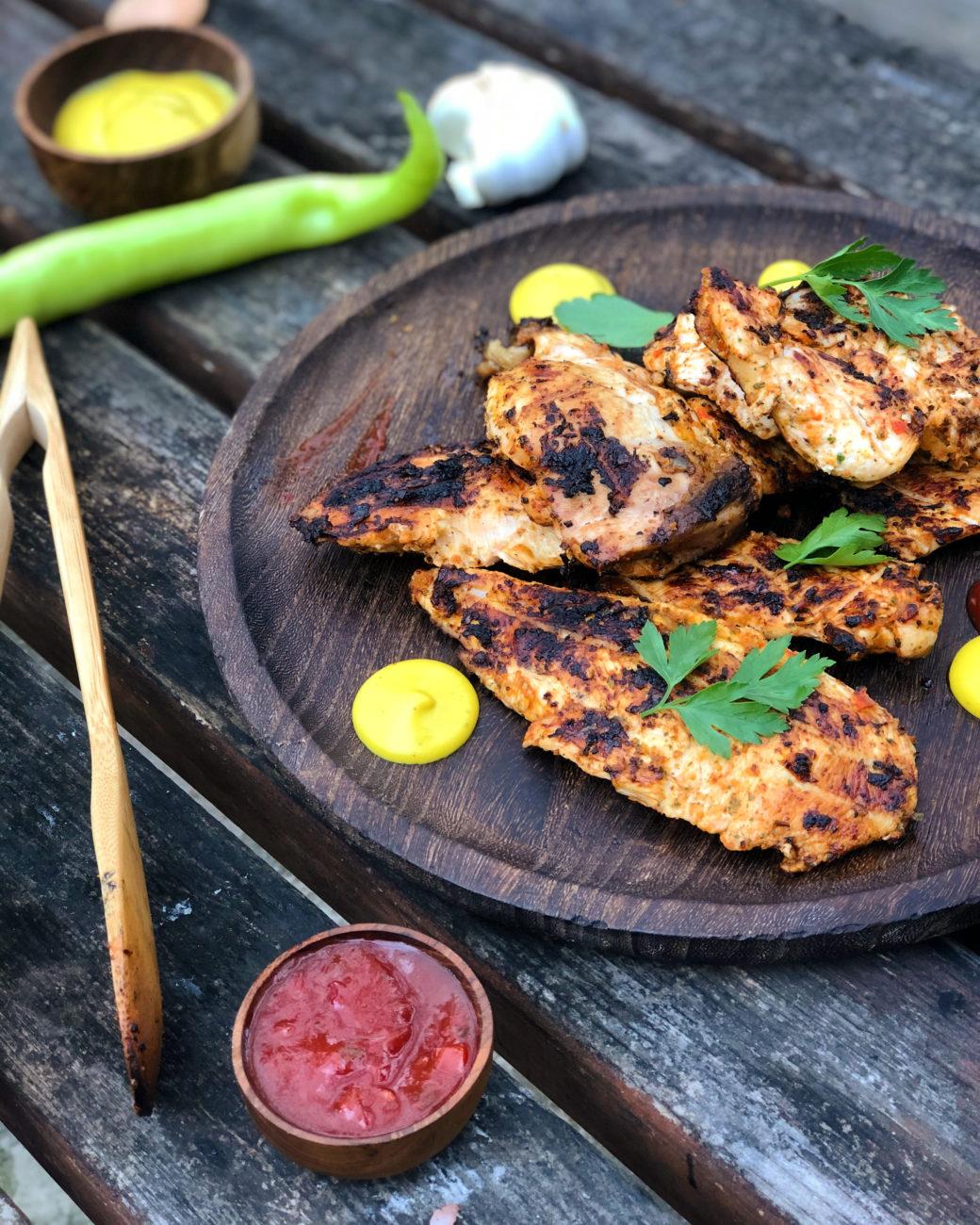 Ψητό κοτόπουλο (πίρι-πίρι)