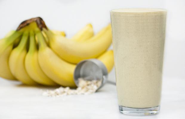 Smoothie με μπανάνα, μέλι