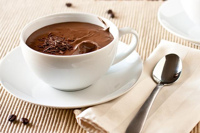Μους σοκολάτα με εσπρέσσο