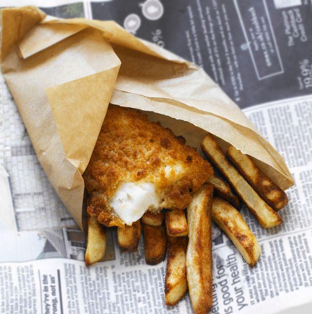 Τηγανητό ψάρι με πατάτες