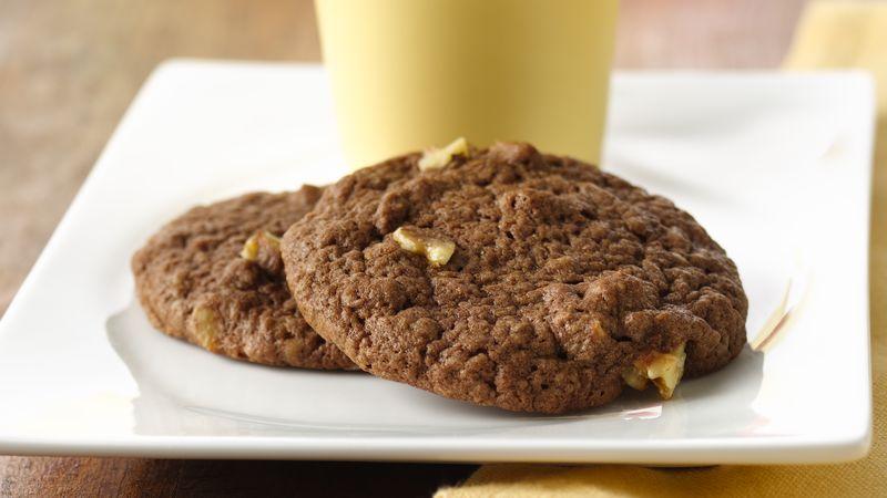 Cookies με μπανάνα καρύδια