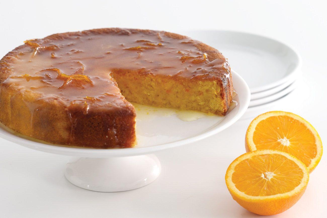 Κέικ με πορτοκάλι