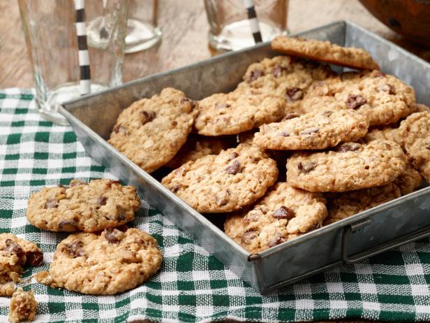 Cookies σοκολάτας με φρουί γλασέ