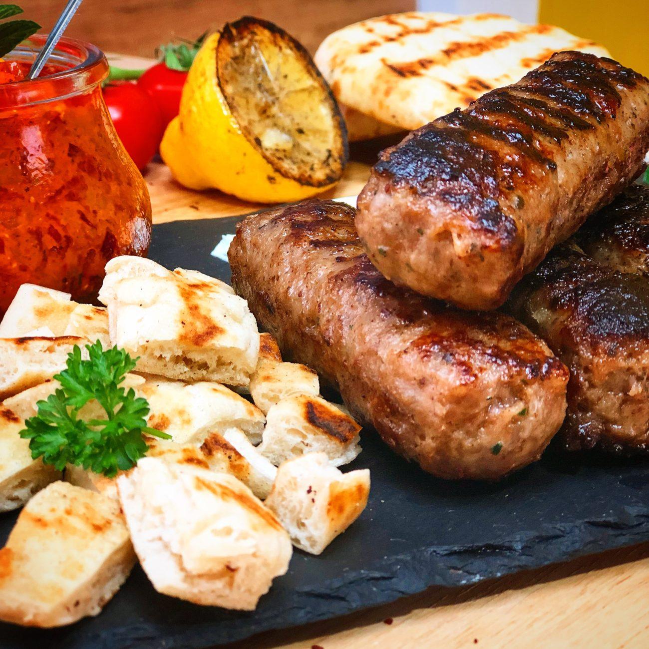 """Σουτζουκάκια με Βουβαλίσιο κρέας """"Μπόρας"""""""