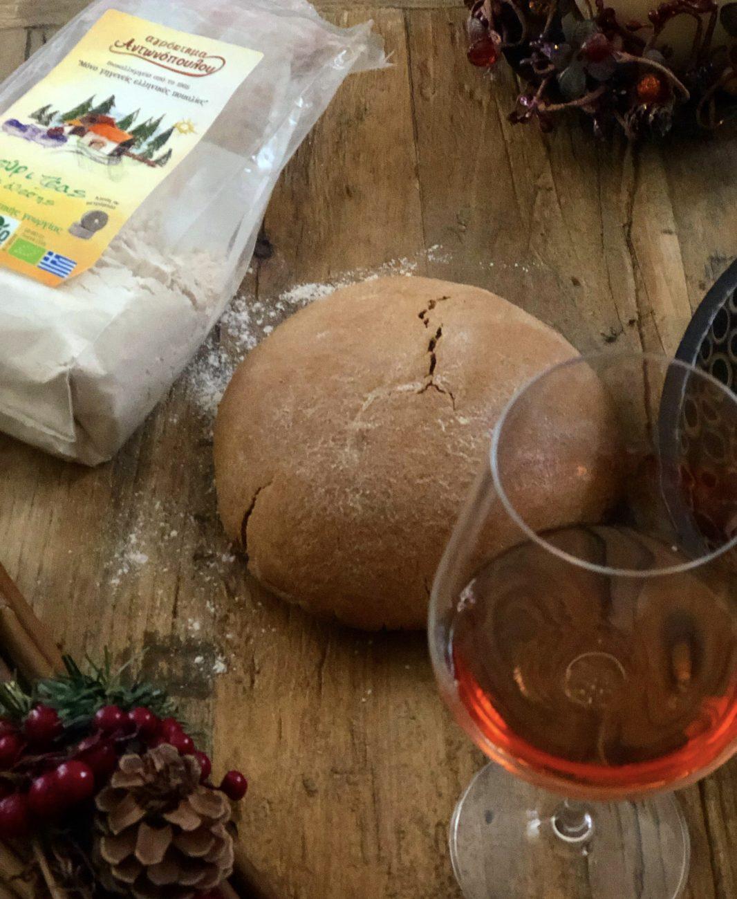 Ζυμωτό ψωμι με Ζέας
