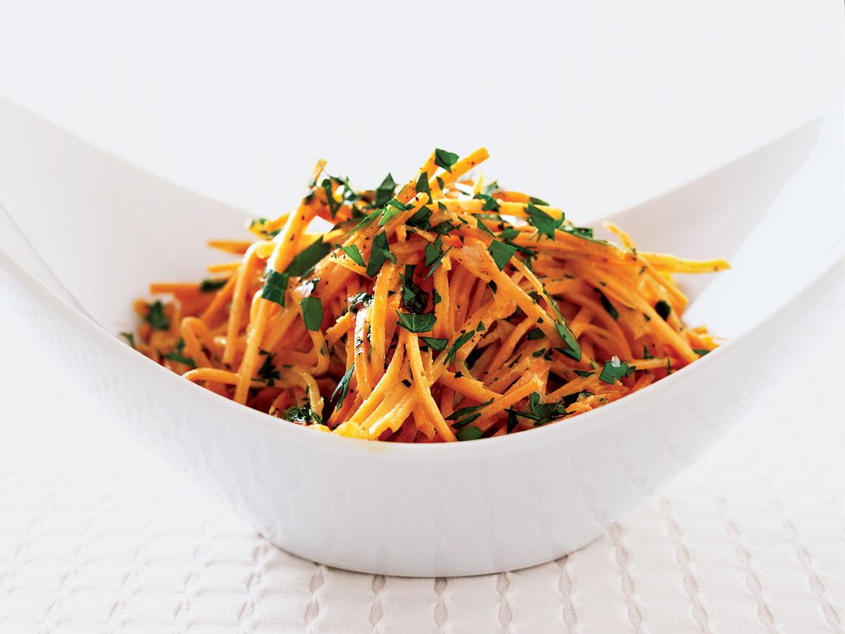 Καρότο σαλατα με τζίντζερ