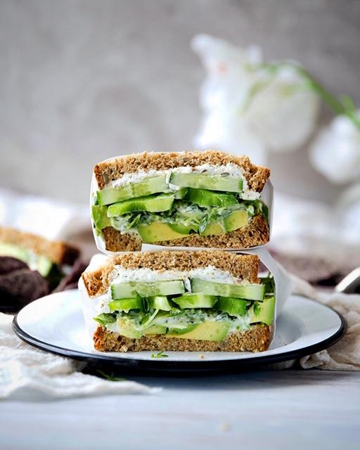 Πράσινο σάντουιτς