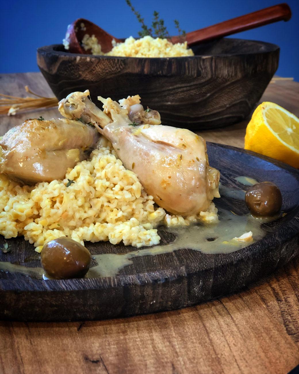 Κοτόπουλο λεμονάτο