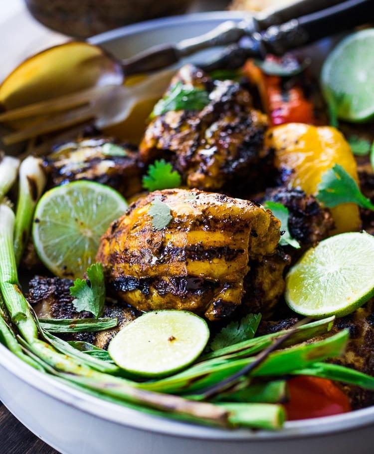 Κοτόπουλο σχάρας tandoori